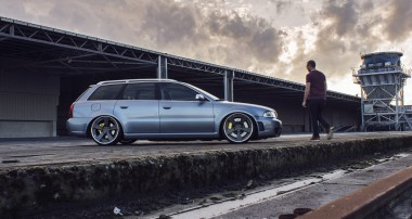 Young Classic: Audi RS4 B5 with KW Variant 3 and 20″ ADV.1 Wheels!