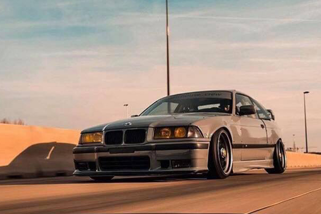 The Freshness Of The 90ies Bmw E36 Meets Kw V1 And Audi Nardo Grey Kw Automotive Blog