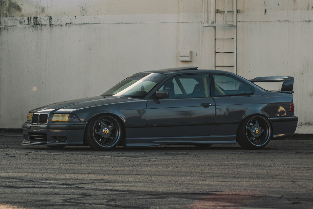 The Freshness Of The 90ies Bmw E36 Meets Kw V1 And Audi