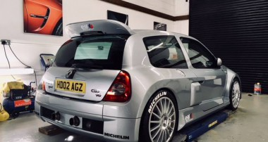 """Retro Widowmaker from France"": Renault Clio V6 with KW coilovers – any more questions?"