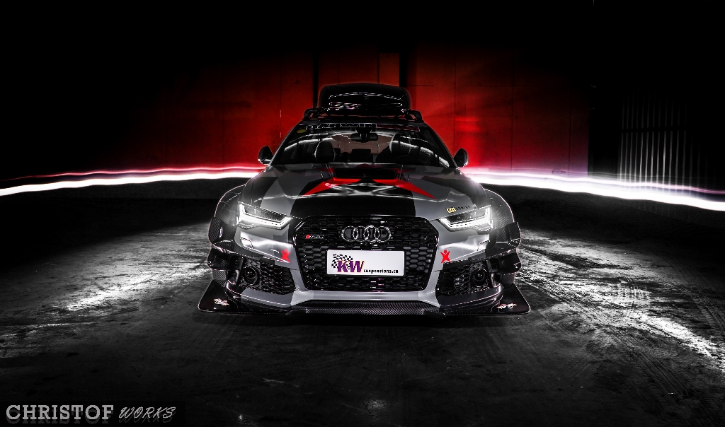 Chinese Stance Story: Audi RS6 with carbon fiber widebody