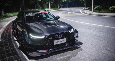 Chinese Stance Story: Audi RS6 with carbon fiber widebody kit