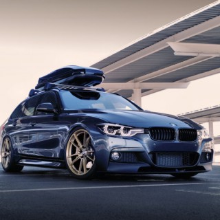 "OEM Plus, Plus: Building The 330i ""Smash Wagon"""