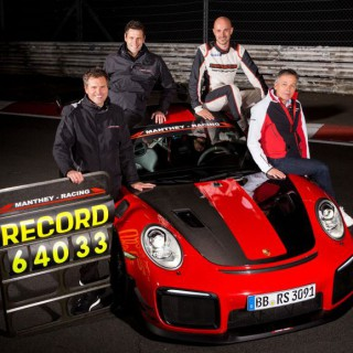 Porsche 911 GT2 RS MR is the fastest road-legal sports car ever at the Ring!