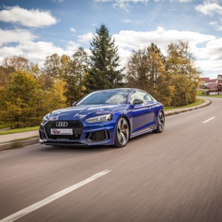 Exciting: The KW Variant 4 Street Performance Coilover Kit unleashes the Audi RS5