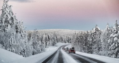 Air-cooled to the Far North: Porsche Club drives to the North Cape in the winter!