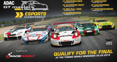 RaceRoom ADAC GT Masters Esports Championship launched: Finals @ Tuning World Bodensee