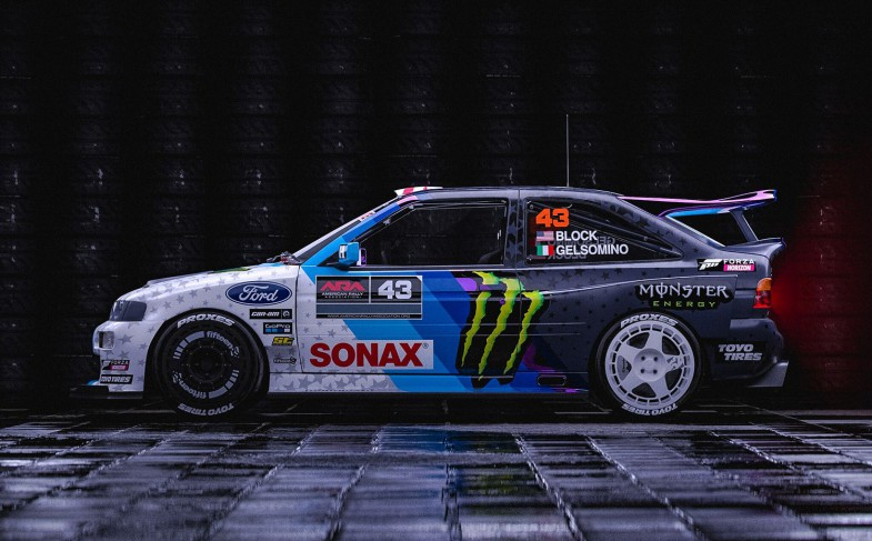 Ken Block's Cossie 2.0: The Nineties kickin' in!