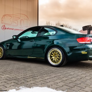 Beyond 6xx hp supercharged BMW M3 with KW Clubsport setup