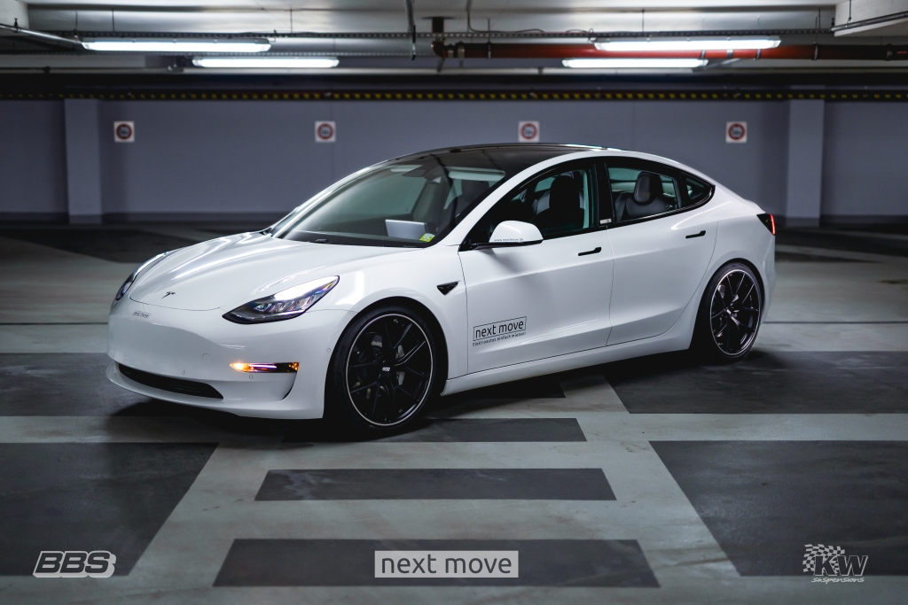 Tesla Model 3 Awd >> Kw Develops Coilovers For All Tesla Model 3 Awd And Rwd