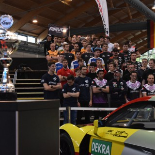 Close racing and lots of action at the RaceRoom Esports Event at Tuning World Bodensee