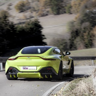 License for lowering: KW height adjustable springs for Aston Martin Vantage
