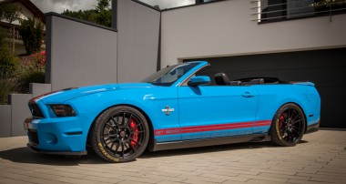 Extensive ST suspensions program for the Ford Mustang VI (LAE)