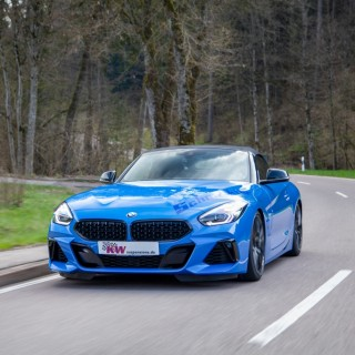 Unmatched driving pleasure for the BMW Z4 Roadster (G29): KW V3 is now available