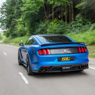 ST coilovers, ST springs and ST wheel spacers are now available for the latest Ford Mustang (LAE)