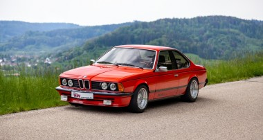 Modern ride quality and driving dynamics for all classical BMW 6-series (E24)