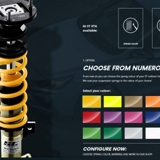 Tuning for your Suspension: ST suspensions initiate Customizing Program