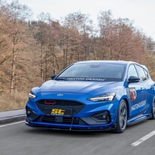 Performance Stance by ST suspensions: Adjustable Coilover Kits and Wheel Spacers for the latest Ford Focus IV (Type DEH)