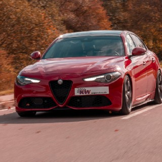 Unleash your Alfa Romeo Giulia (952) with KW suspension kits: Available for all Giulia's with or without AWD