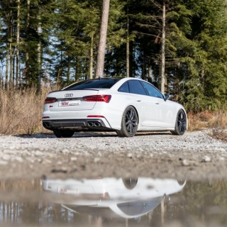 Height Adjustable Springs for latest Audi S6 developed
