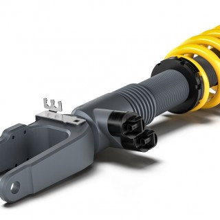A new generation of adaptive KW DDC Coilover suspension kit:  electronically controlled suspension for Mercedes-AMG G 63