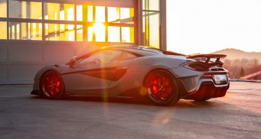 Suspension tuning for McLaren 600LT: Approved driving pleasure