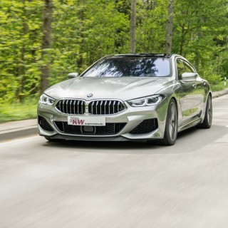 Height-adjustable springs for BMW 8-Series: Attractive looks for Coupé, Convertible, and Grand Coupé