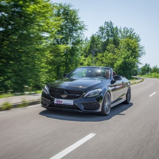 Available for all Mercedes-AMG C43 4MATIC: Height-adjustable KW springs for stepless lowering