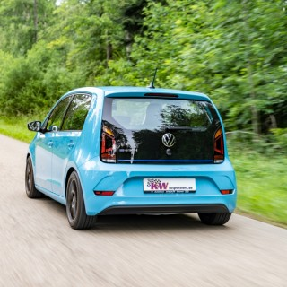 VW e-up! tuning:  KW coilover kits also available for electric powered cars