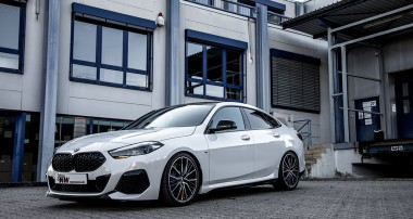 BMW M235i xDrive Gran Coupé Suspension: KW automotive expands the range of coilover suspensions for BMW xDrive vehicles