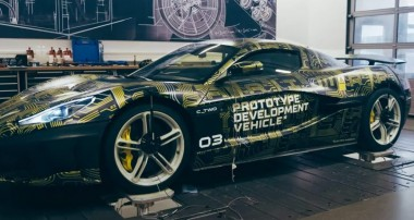 KW automotive outfits 1914 hp Rimac C_Two electric hypercar: R&D work on KW's vehicle dynamics test rig