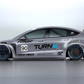 """The top of the mountain is the goal: Dai Yoshihara is planning to compete with a Tesla Model 3 at the """"International Pikes Peak Hill Climb Race"""""""