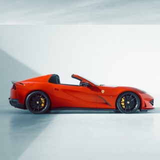 German Engineering for a Bella Macchina: Novitec and KW Suspension components developed for the Ferrari 812 GTS