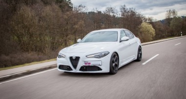 Increased handling for the Alfa Romeo Giulia (952)