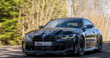 Maximum driving pleasure on the road with KW coilover Variant 4 for the BMW M4 (G82) and BMW M3 (G80)
