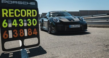 Porsche sets new lap record on the Nordschleife with 6:43.300 minutes