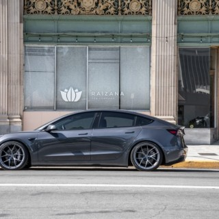 Everything about the Tesla Model 3 coilover made by KW