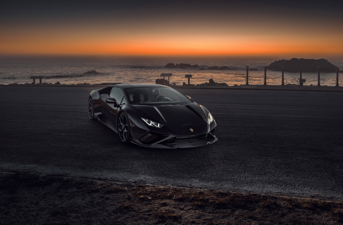 Black. Strong. Evo. KW Solid Piston Technology for Lamborghini Huracán Evo RWD