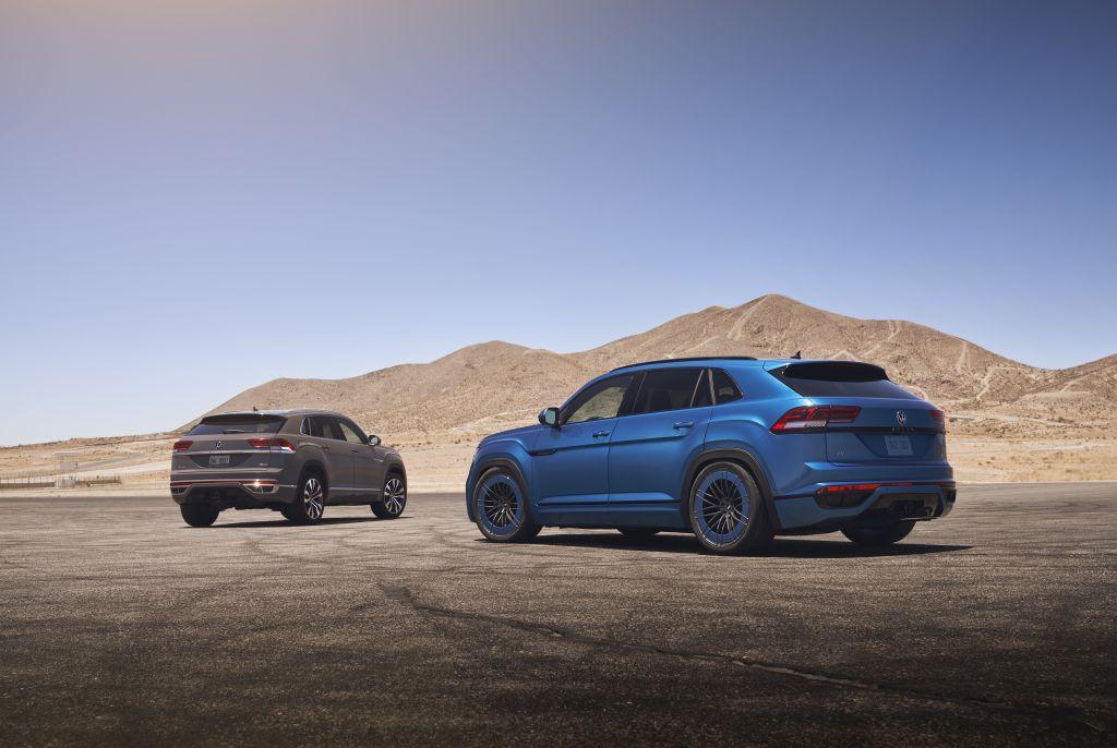 Customized ST XTA plus 3 in VW's Atlas Cross Sport GT Concept