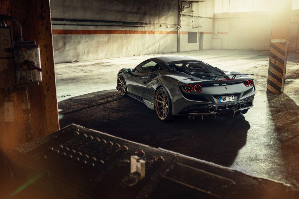 Novitec relies on KW suspension Engineering for the Ferrari F8 Tributo