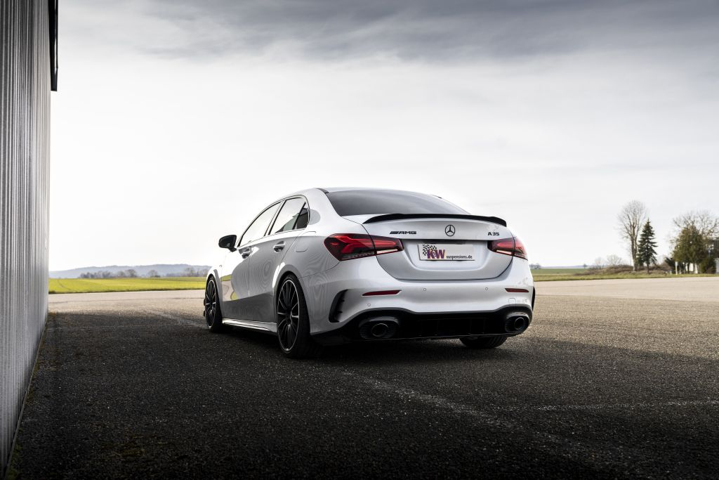 AMG Black Series Engineering for Mercedes-AMG A 35 4MATIC (V177) & Co: KW driving dynamics upgrade for all Mercedes A-Class sedans